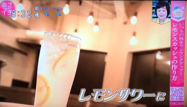 究極のレモンスカッシュ